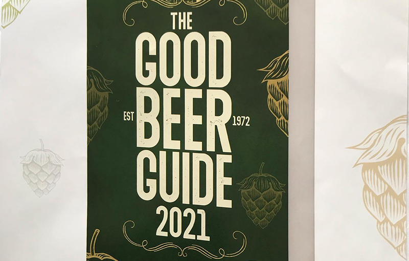 We're in the Good Beer Guide 2021