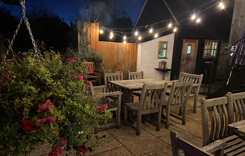 Outside dining, Covid safe, Berkshire