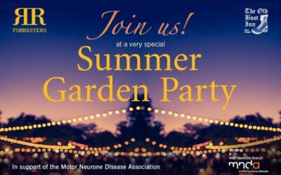 A Special Summer Garden Party